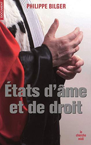9782749114163: Etats d'âme et de droit (French Edition)