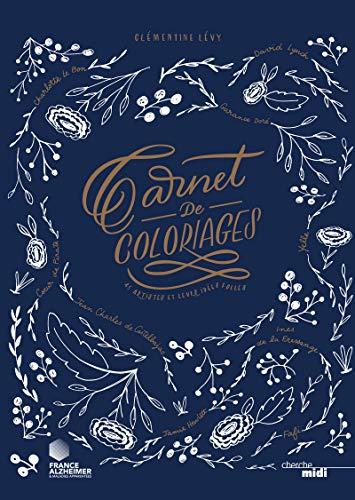 9782749145273: Carnet de coloriages (French Edition)