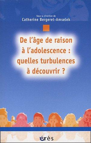 9782749203850: De l'âge de raison à l'adolescence (French Edition)