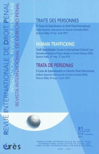 Revue Internationale de Droit Pénal, 81e année,: Jacques Buisson; Collectif