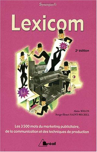 9782749500492: Lexicom (French Edition)