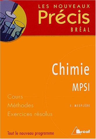 9782749502328: Chimie MPSI
