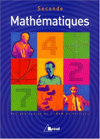 Mathématiques seconde: Jean-Claude Thiénard; Maryse