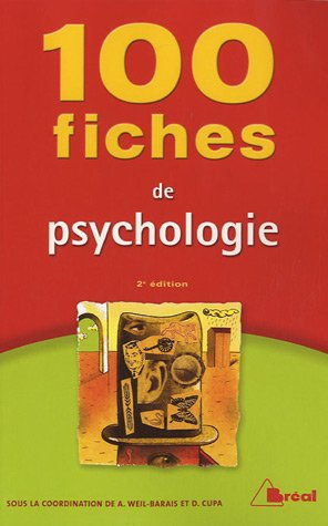 9782749502908: 100 fiches de psychologie