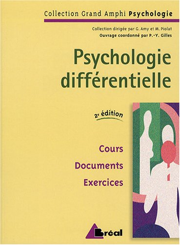 9782749503066: Psychologie différentielle