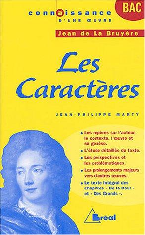 9782749503769: Les Caract�res