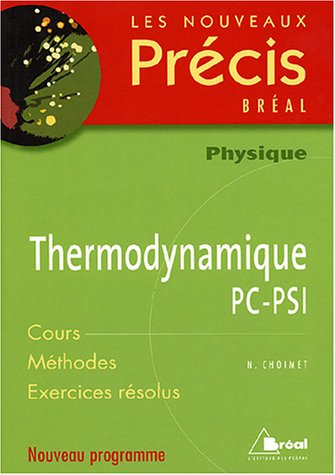 9782749504025: Thermodynamique PC-PSI