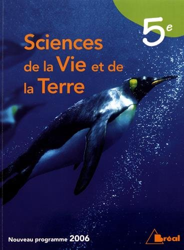 9782749505930: Sciences de la Vie et de la Terre 5e