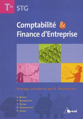 9782749505961: Comptabilité et Finance d'Entreprise Tle STG