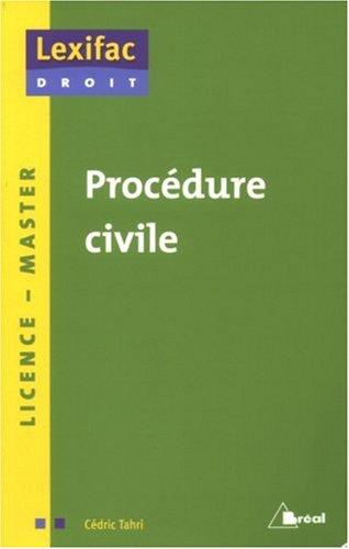 9782749506920: Procédure civile