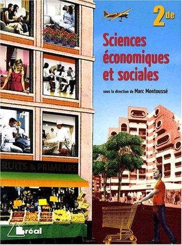 9782749508269: Sciences économiques et sociales 2e