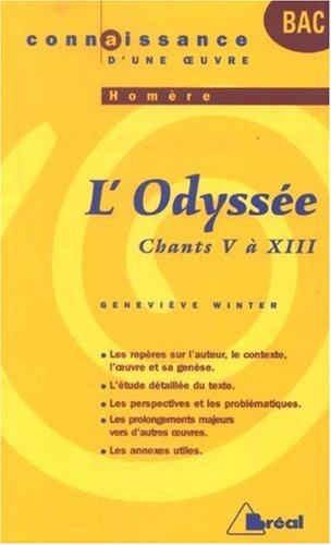L'Odyssée, Homère : Chants V à XIII: Geneviève Winter