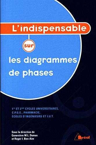 9782749509938: L'indispensable sur les diagrammes de phases