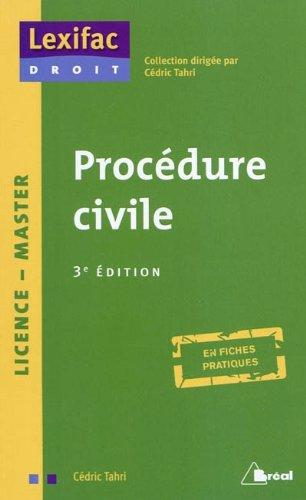 9782749510019: Procédure civile