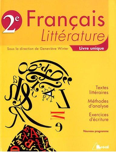 9782749530246: francais litterature seconde