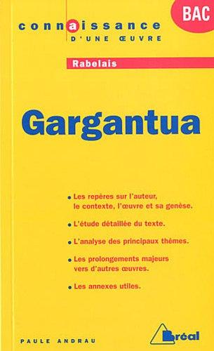 9782749530420: Gargantua