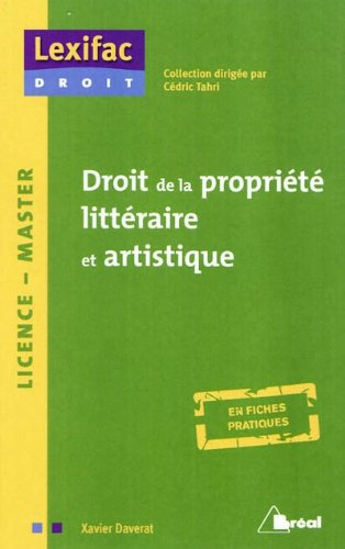 Droit De La Propriete Intellectuelle