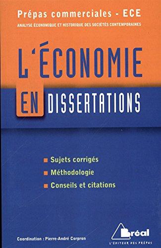 9782749531465: L'économie en dissertations