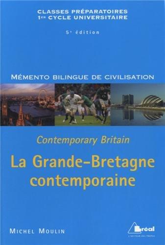 9782749531632: Grande-Bretagne Contemporaine (la)