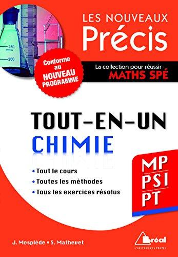 9782749533100: Chimie MP/PSI/PT - Conforme au programme 2014 - Pr�cis tout-en-un - Cours - M�thode - Exercices