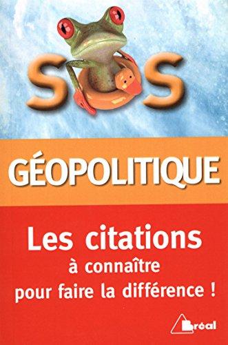 9782749534145: SOS citations de géopolitique