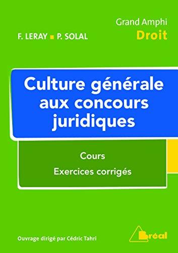 9782749534398: Culture g�n�rale aux concours juridiques