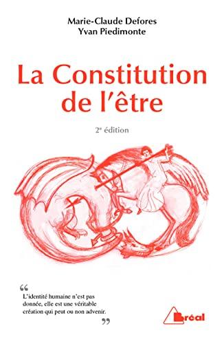 9782749534978: La constitution de l'être