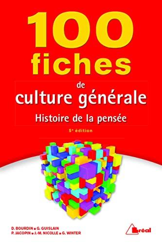 9782749536156: 100 fiches de culture générale