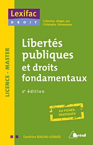 9782749538884: Libertés publiques et droits fondamentaux