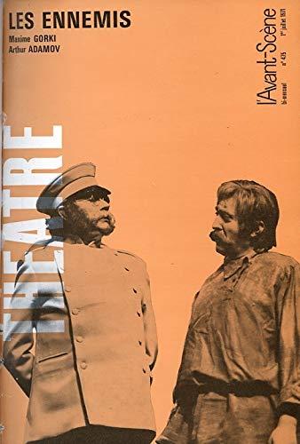 L'Avant-scà ne thà âtre, N° 475, 1er: Maxime Gorki