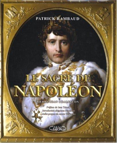 9782749901541: Le sacre de Napoléon