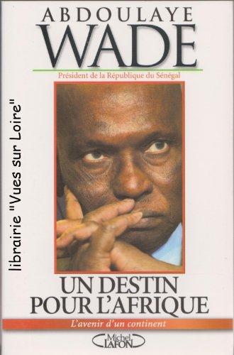 9782749903880: Un Destin pour l'Afrique