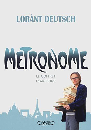 9782749917580: M�tronome le Coffret (Livre + 2 dvd)