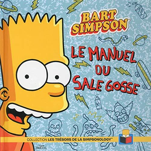 9782749922089: Bart Simpson Le manuel du sale gosse