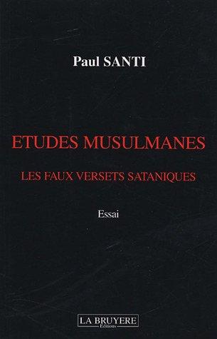 9782750000615: Etudes musulmanes : Les faux versets sataniques