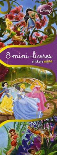 9782750208165: 8 Mini-livres Stickers Gold : Les princesses