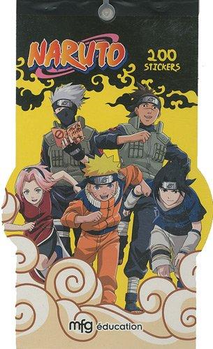 9782750208240: Naruto 200 stickers