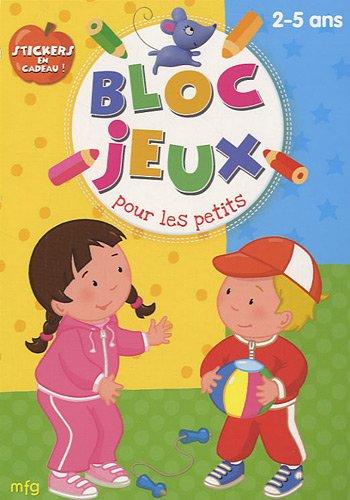 9782750208363: Bloc Jeux pour les petits 2-5 ans