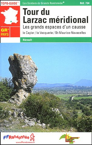 9782751400704: Tour Du Larzac Meridional GRP (French Edition)
