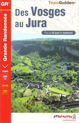 9782751401343: Des Vosges au Jura