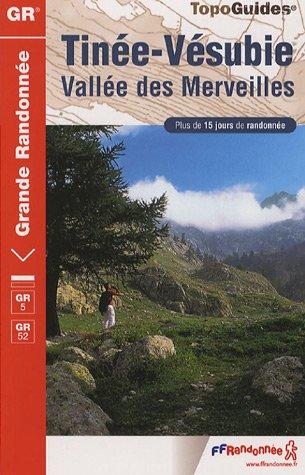 9782751402005: Tinée Vésubie Vallée des Merveilles Parc national du Mercantour