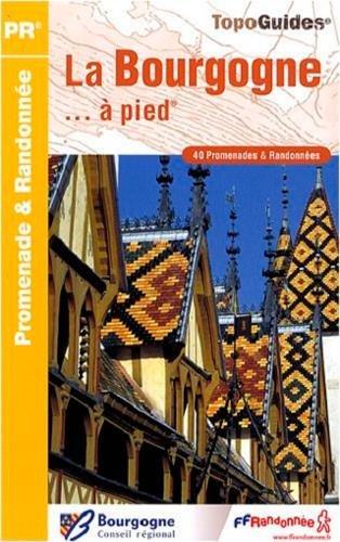 9782751403316: Bourgogne a Pied 40 promenades et randonnees: FFR.RE14