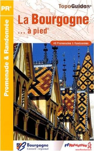 9782751403316: La Bourgogne � pied : 40 promenades & randonn�es