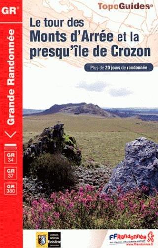 9782751404948: Le tour des Monts d'Arrée et la presqu'ile de Crozon