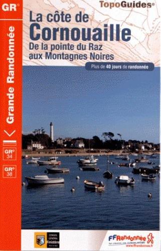 9782751406102: Cote de Cornouailles GR34 De La Pointe au Raz aux Mont. Noires: FFR.0348