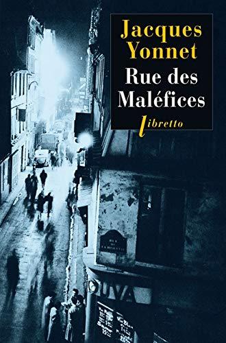 9782752909473: Rue des maléfices : chronique secrète d'une ville