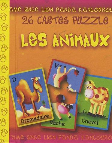 9782753003859: cartes puzzles, les animaux