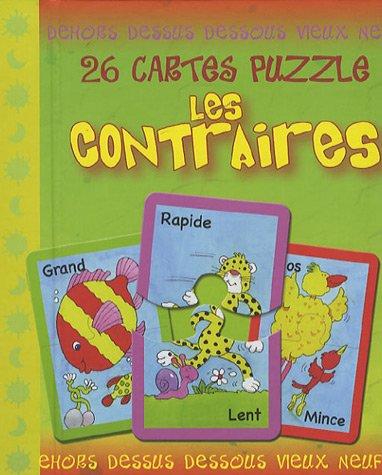 9782753003866: Les contraires : 26 cartes puzzle