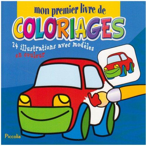 9782753008502: Mon Premier Livre de Coloriage/la Voiture