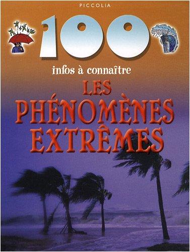 9782753010468: Les phénomenes extrêmes (French Edition)